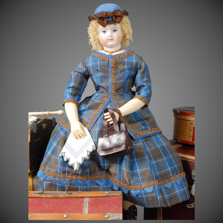 Coming to America Enfantine Style Ensemble Sewing Pattern, based upon an  authentic Huret design, by Louise Hedrick, for 14 5 Doll