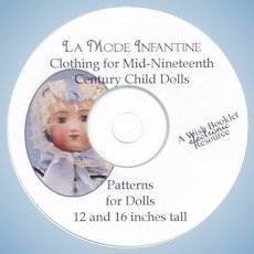 La Mode Infantine: Patterns for Dolls 12 &16 inches tall