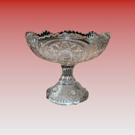 Early 20th Century Pressed Glass Bowl