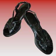 Vintage Slingback Sandals by Penaljo