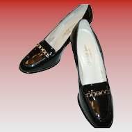 Vintage Saks Fifth Avenue Patent Leather Shoes