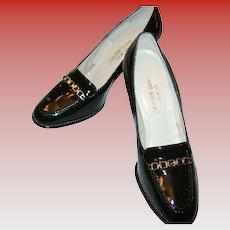 Vintage Saks Fifth Avenue Patent Leather Shoes