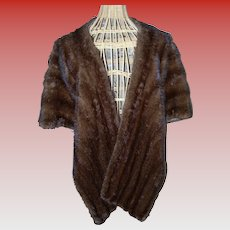 Light Ranch Mink Stole