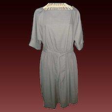 Vintage Pierre Balmain Paris Raglan Style Dress