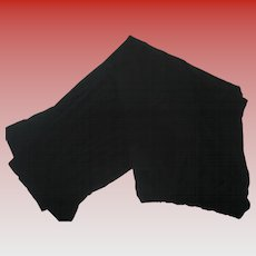 Vintage Carol Little II Black Rayon Trousers