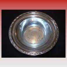 """Richmond Hills Lodge"" Silver-plate Bowl"