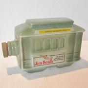 Vintage Jim Beam Cable Car Bottle
