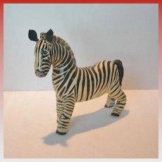Primitive Style Zebra Model