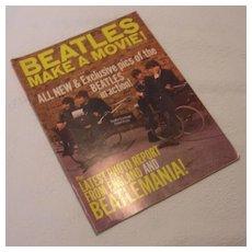 Vintage The Beatles Make a Movie, Magnum Publications Magazine, 1964