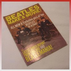 Vintage The Beatles Make a Movie, Magnum Publications Magazine, 1964