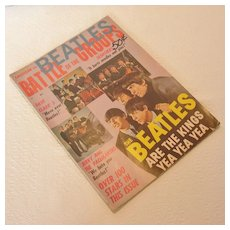 Vintage The Beatles Battle of The Groups Vol 1, No 1, 1964