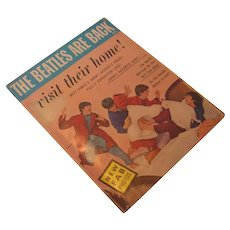 Vintage The Beatles are Back Magazine, MacFadden-Bartell Corp 1964