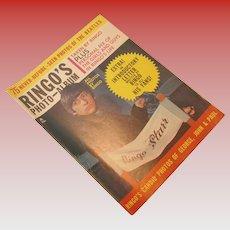 Vintage Ringo's Photo Album Fan Magazine, circa 1964
