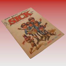 Vintage Off Beatles Issue Sick Magazine, June 1964