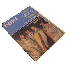 Saturday Evening Post August 27, 1966 Featuring The Beatles