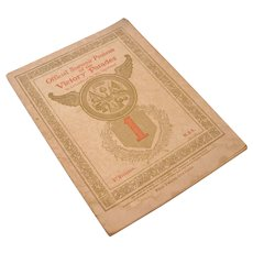 Official Souvenir Program of the Victory Parades, 1919