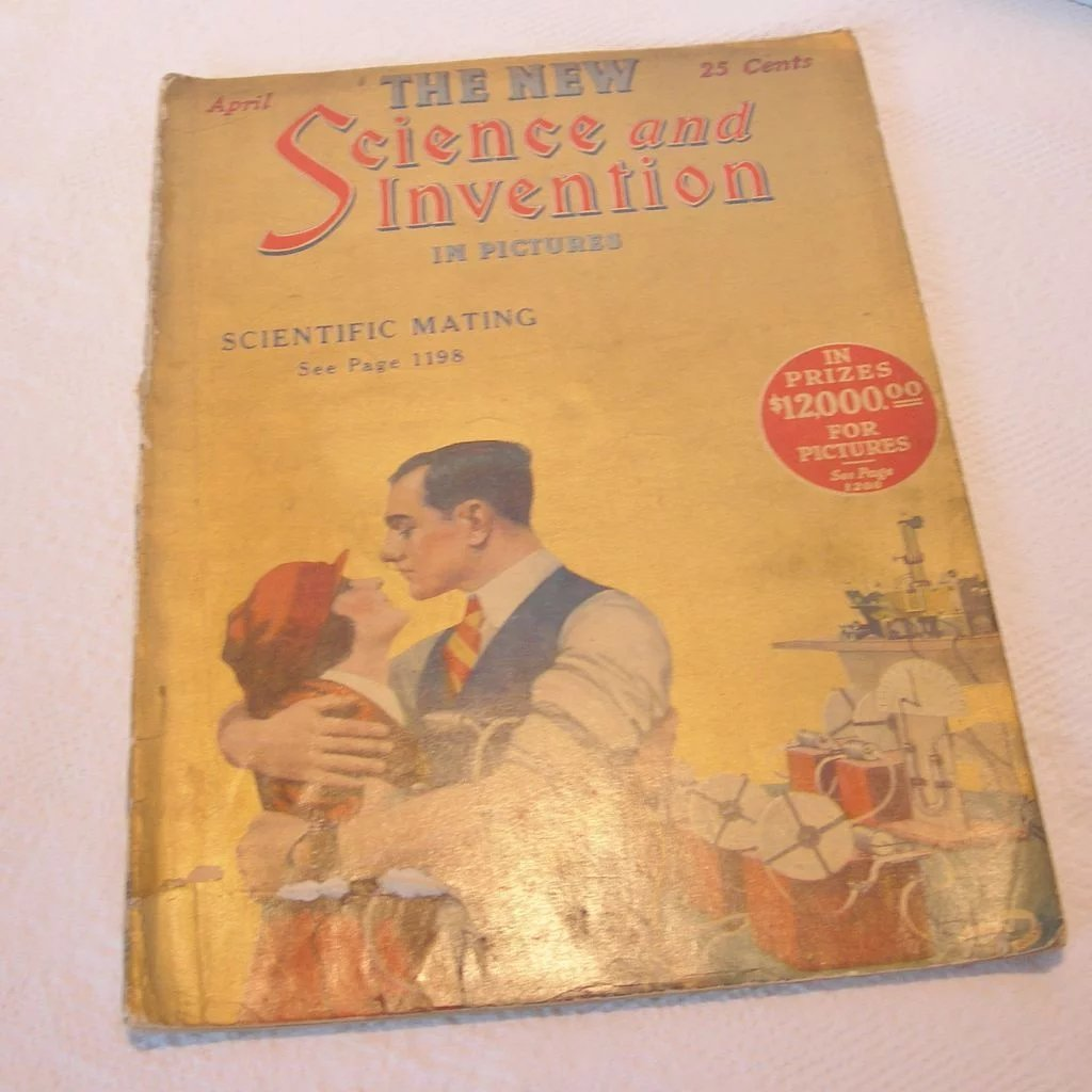 science and invention magazine april 1924 dorothy s bling ruby lane