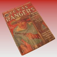 August 1938 Texas Rangers Magazine Vol 7 No 1