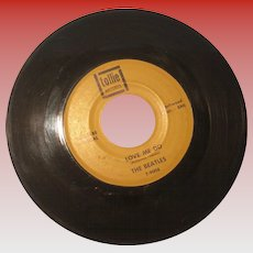 """The Beatles 45 rpm """"Love Me Do"""" and """"P.S. I Love You"""""""