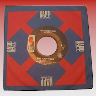 "The Critters ""Younger Girl"" 45 rpm on KAPP"
