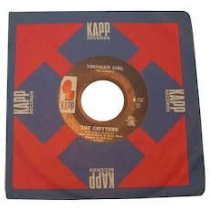 """The Critters """"Younger Girl"""" 45 rpm on KAPP"""
