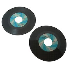 """Moody Blues 45 rpm """"Stop"""" and """"Go Now"""""""