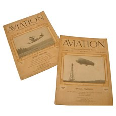 Aviation Magazines August 17, 1925 and Oct 4, 1926