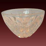 Vintage Kosta Lead Crystal Bowl