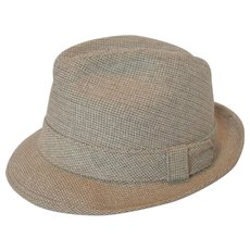 Vintage KNOX New York men's Narrow Brim Tweed Fedora