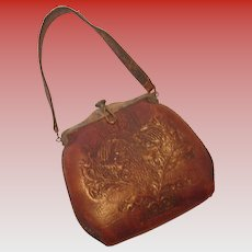 Vintage Leather Nocona Handbag