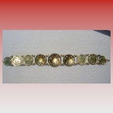 Pre-revolution Russian Coin Bracelet