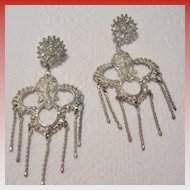Vintage North African Chandelier Earrings from our Belly Dancer's Collection