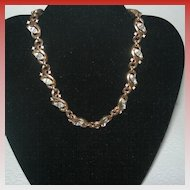 Vintage Trifari Gold-tone Vine Necklace