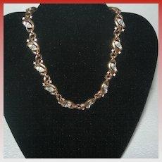 Vintage Trifari Gold-tone Vine Necklace