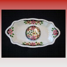 Vintage Adams Titian Ware Candy Plate