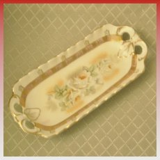 European Decorative Relish Tray made in Germany