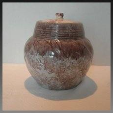 Vintage Conder Ceramic Lidded Jar