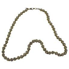 Monet Tennis Necklace