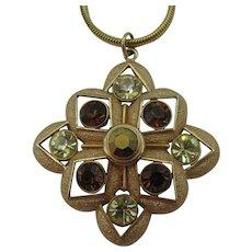Sarah Coventry necklace modern design