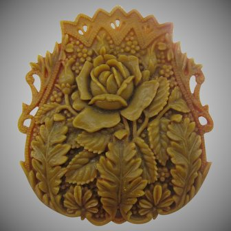 Beautiful Old Celluloid pin in wonderful condition
