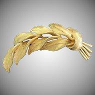 HAR Falling Leaf Brooch
