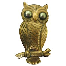 Bell trading Company Owl done in Copper