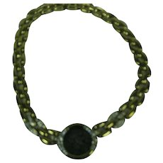 Ciner Necklace with Greek coin