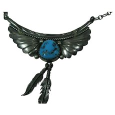 NATIVE AMERICAN Richard Begay Beautiful Necklace NAVAJO