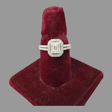 Lovely Estate Diamond Engagement Ring