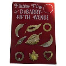 Flatter pins by DuBarry Fifth AVE