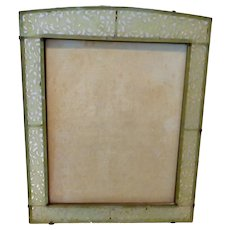 Carved Jade Picture frame Large size