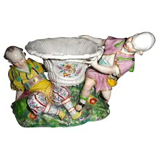 18th Soft Paste Porcelain Center Bowl, Menecy