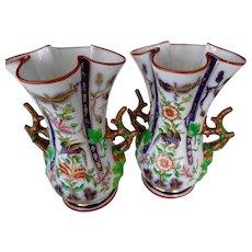 Pr 19th c. English Vases