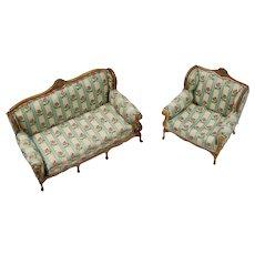 Sofa and Armchair Doll House Set
